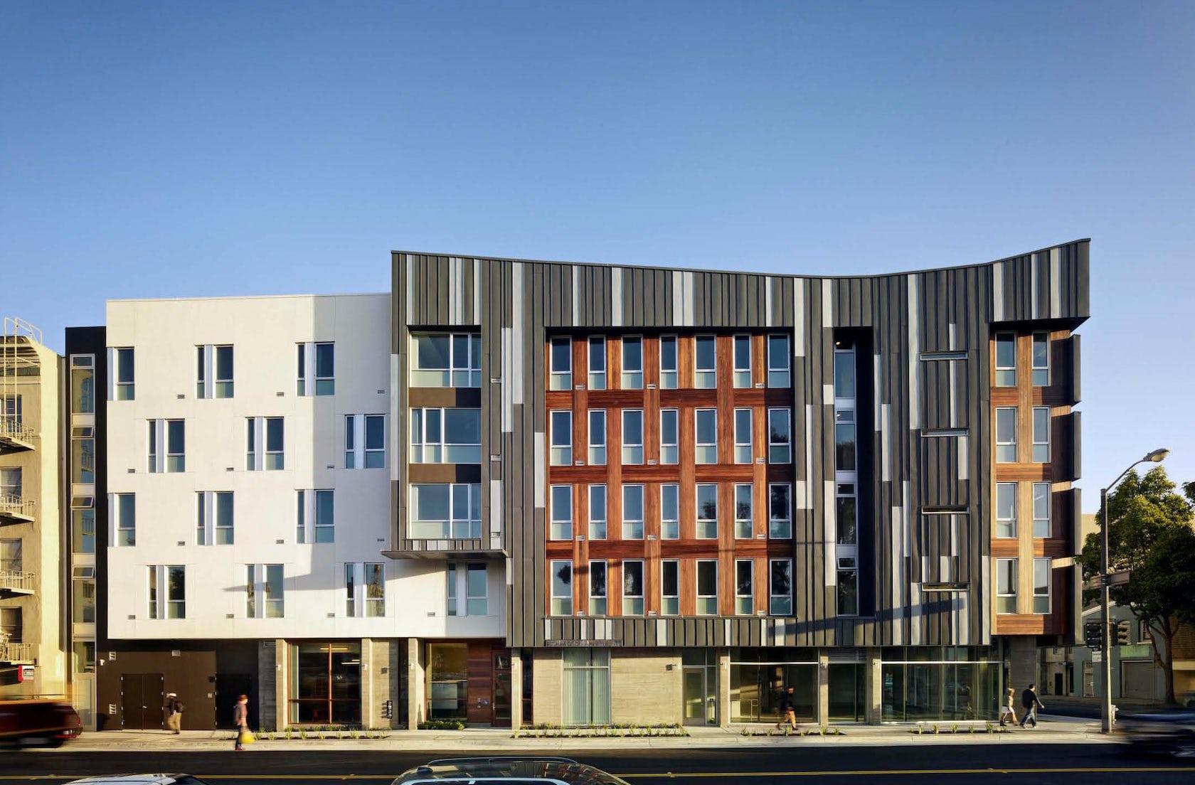 Richardson affordable apartments architizer for Richardson architect