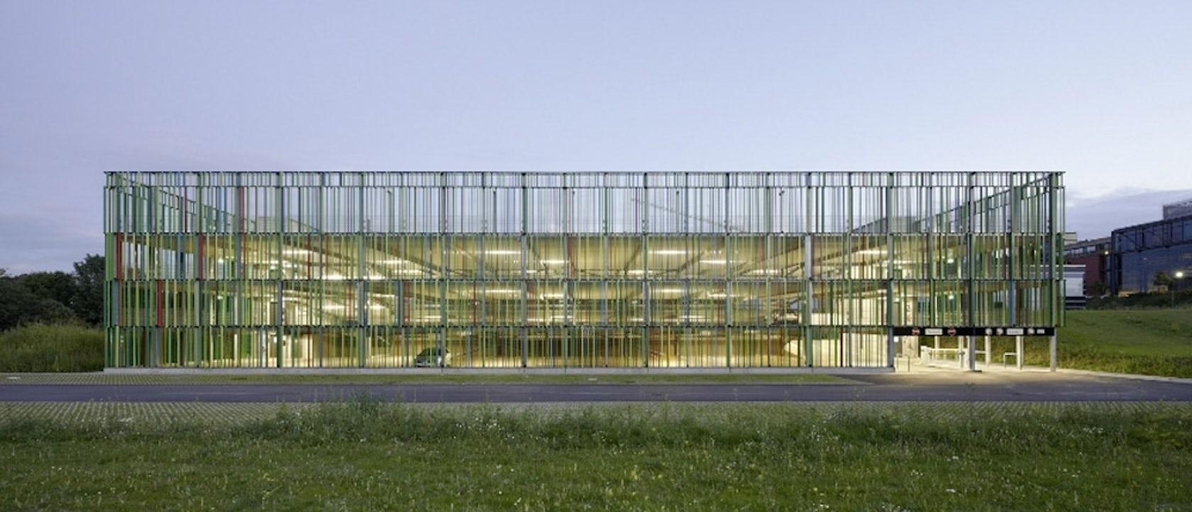 Multi Storey Car Park Of Fraunhofer Ilt And Ipt Aachen