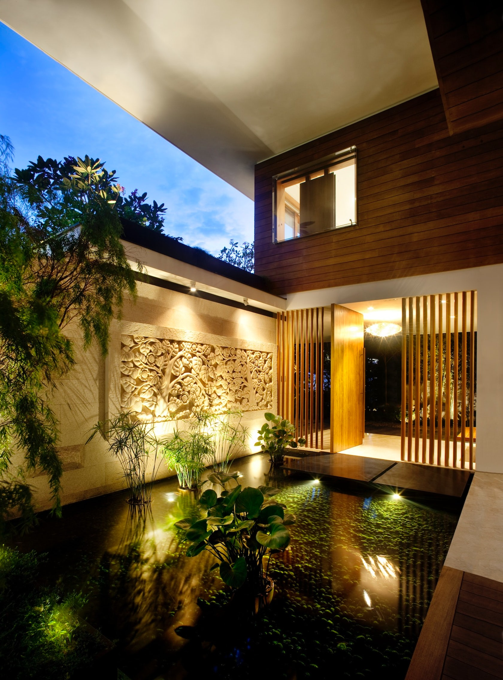 Sky garden house architizer for Willow house singapore