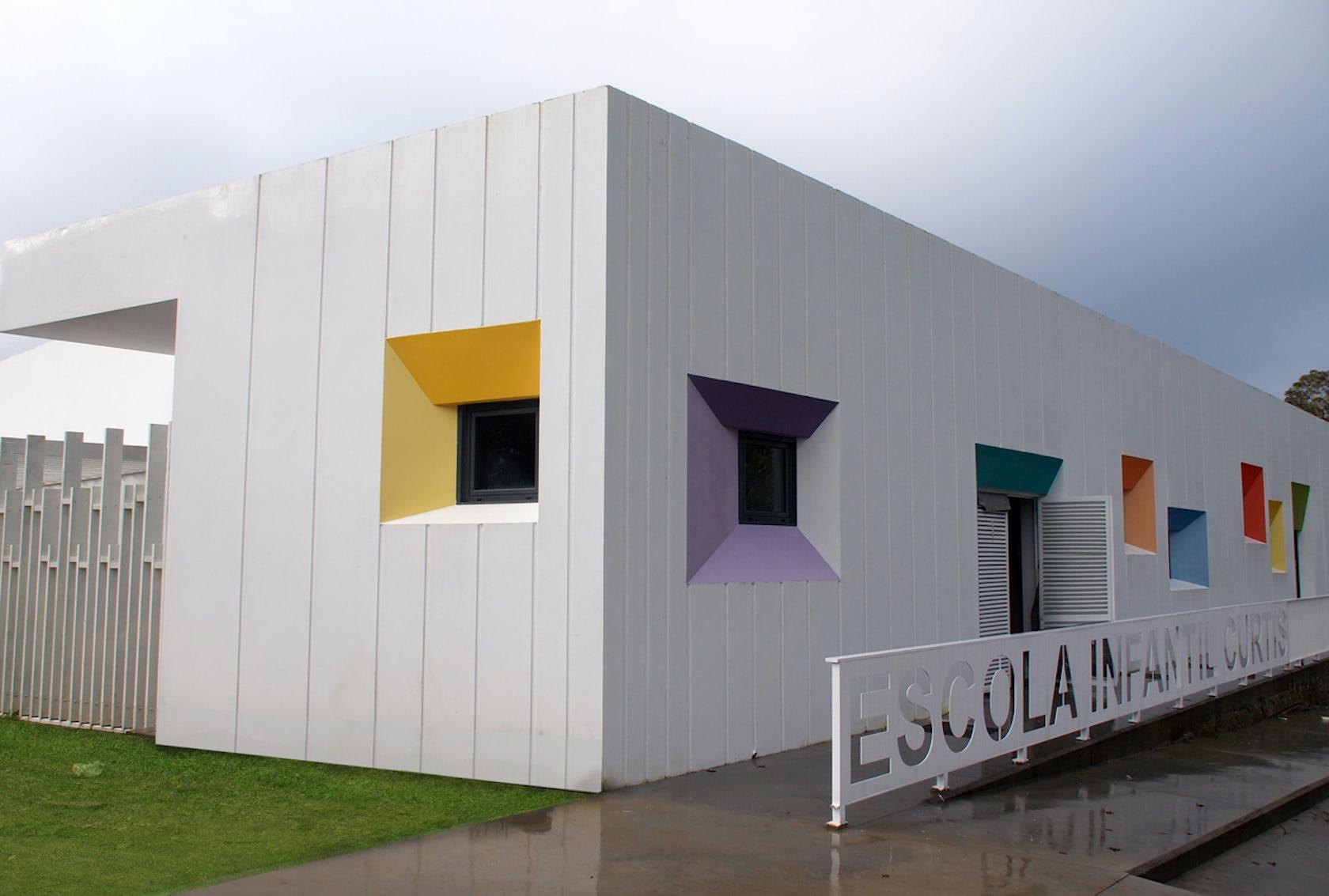 Nursery school in curtis a coru a spain architizer - Estudios arquitectura coruna ...