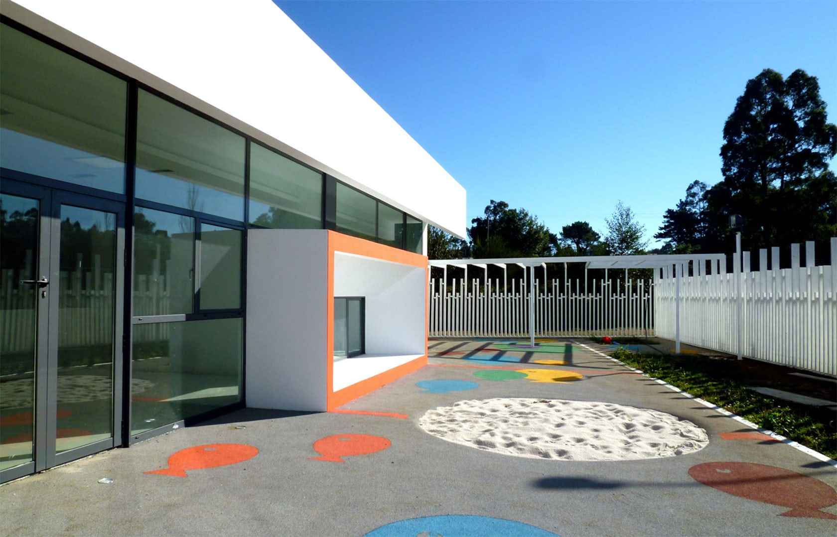 Nursery school in curtis a coru a spain architizer - Estudios arquitectura coruna ...