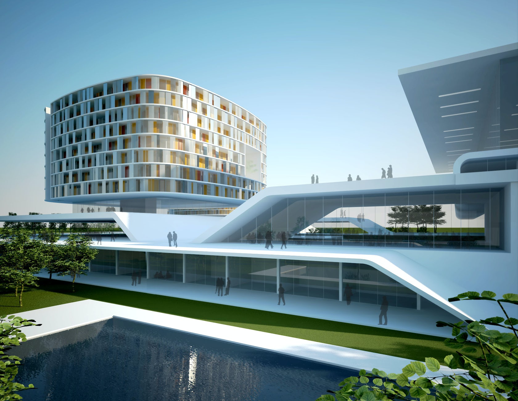 Bangalore international convention centre architizer for Multinational architectural firms in bangalore