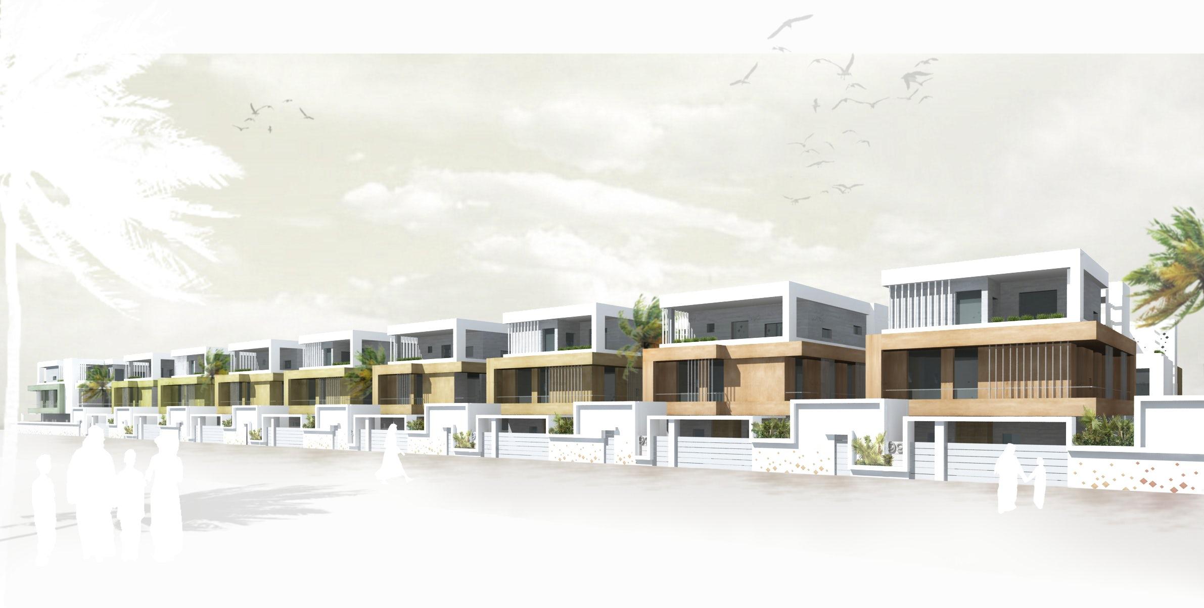 Residential Housing 26 units in Obhur, Arabia