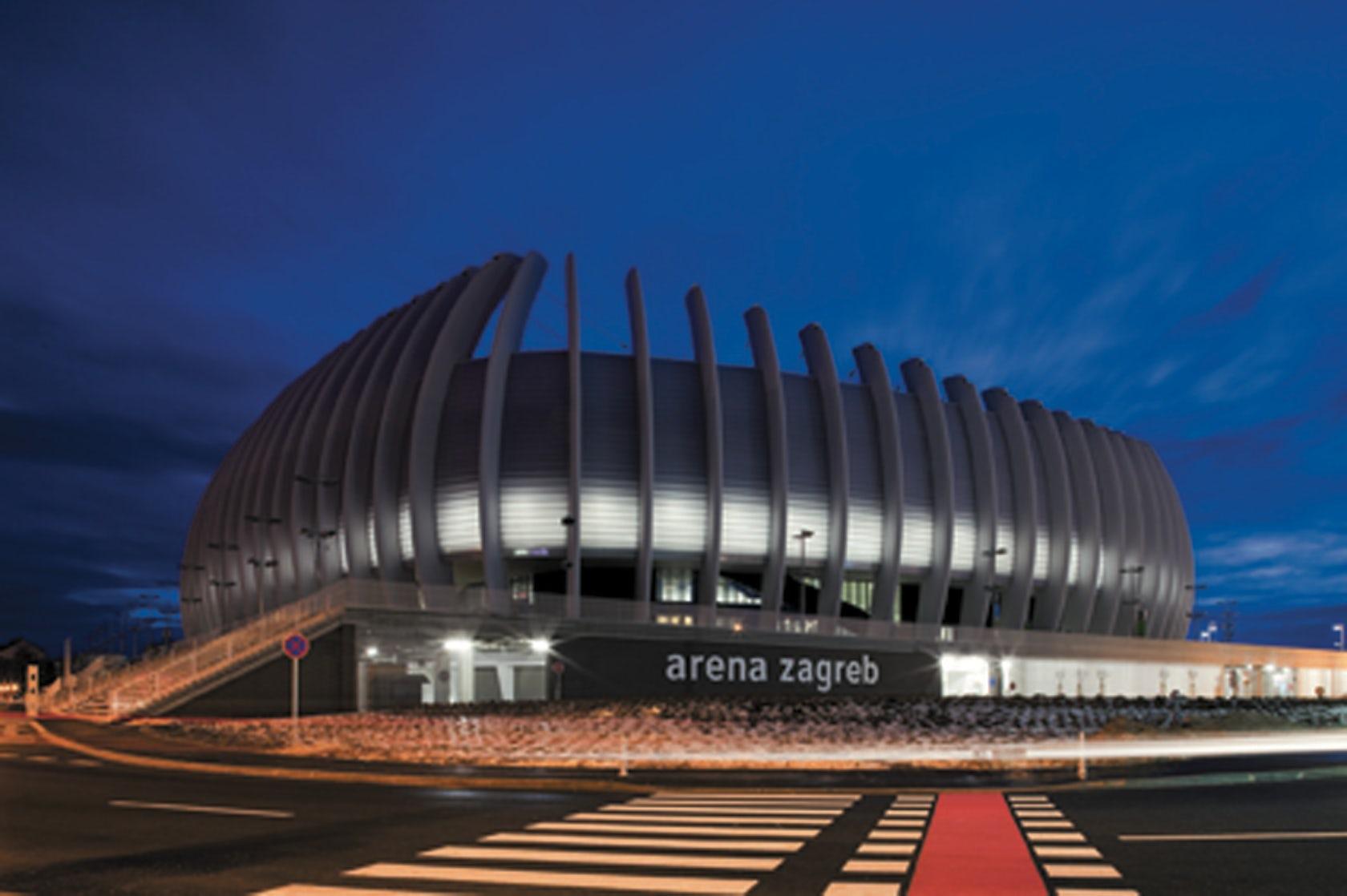 Arena Zagreb By Upi 2m Architizer