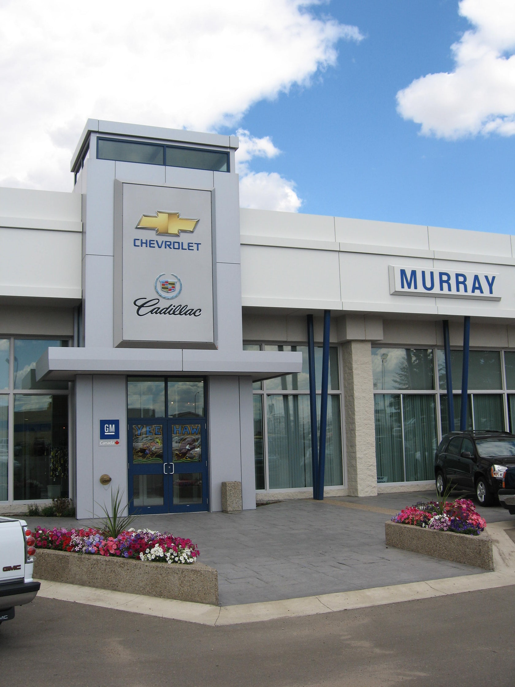 Murray Chevrolet & Cadillac Dealership Renovation - Architizer