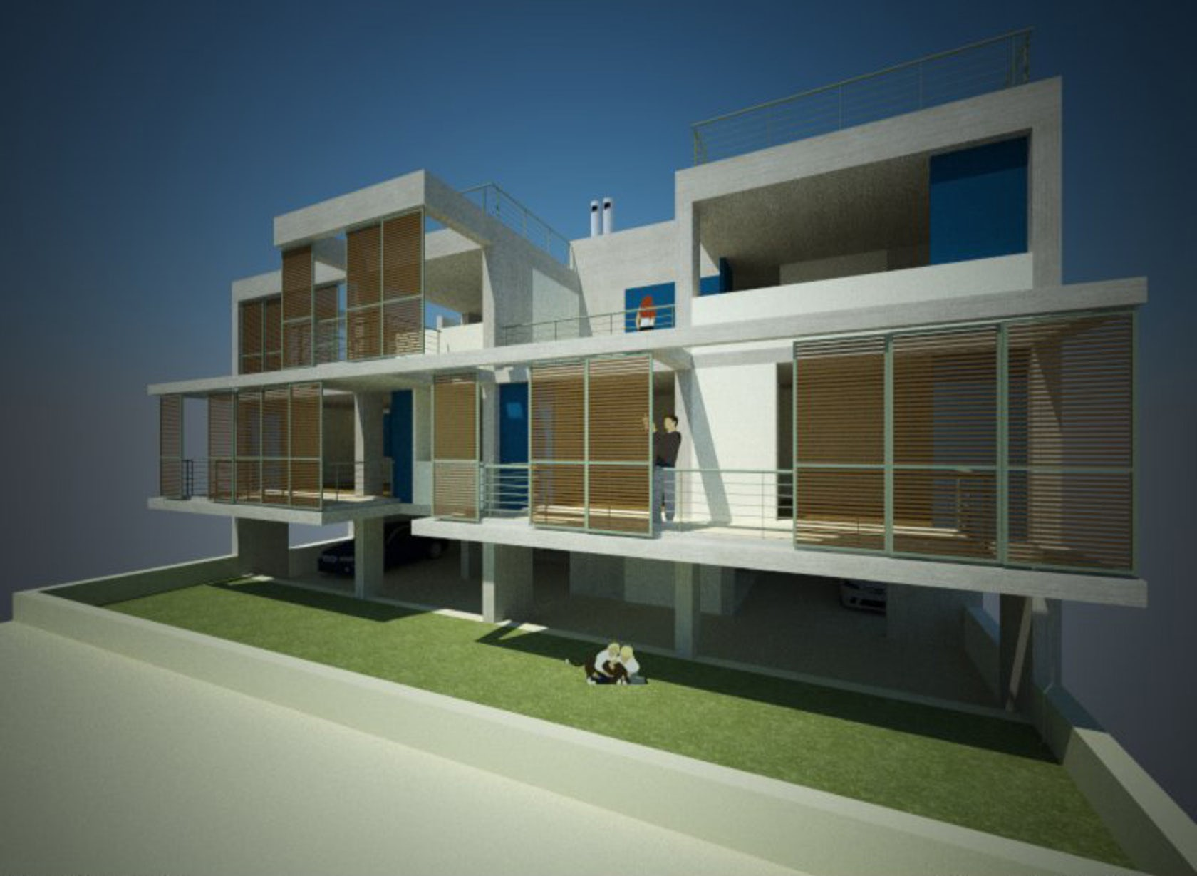 More than duplex house architizer for Duplex project