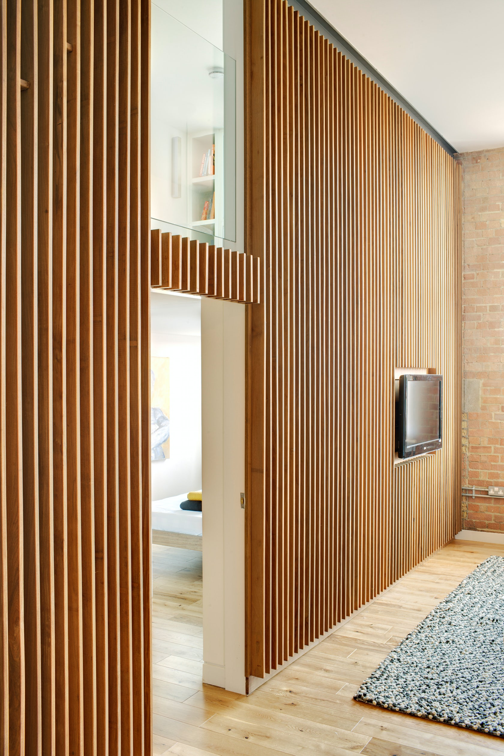 apartment in bow quarter london architizer. Black Bedroom Furniture Sets. Home Design Ideas
