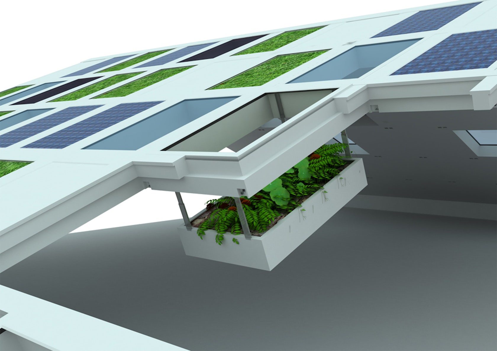 S5 modular roof system ytong roof and sustainability for Prefabricated roofing systems