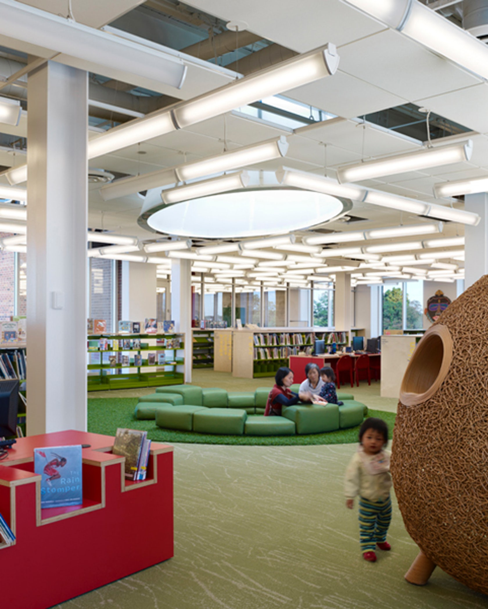 Plainsboro Public Library On Architizer