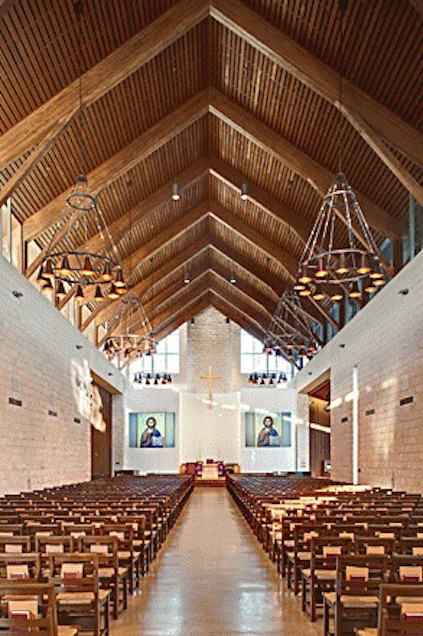 All Saints Chapel at TMI the Episcopal School - Architizer