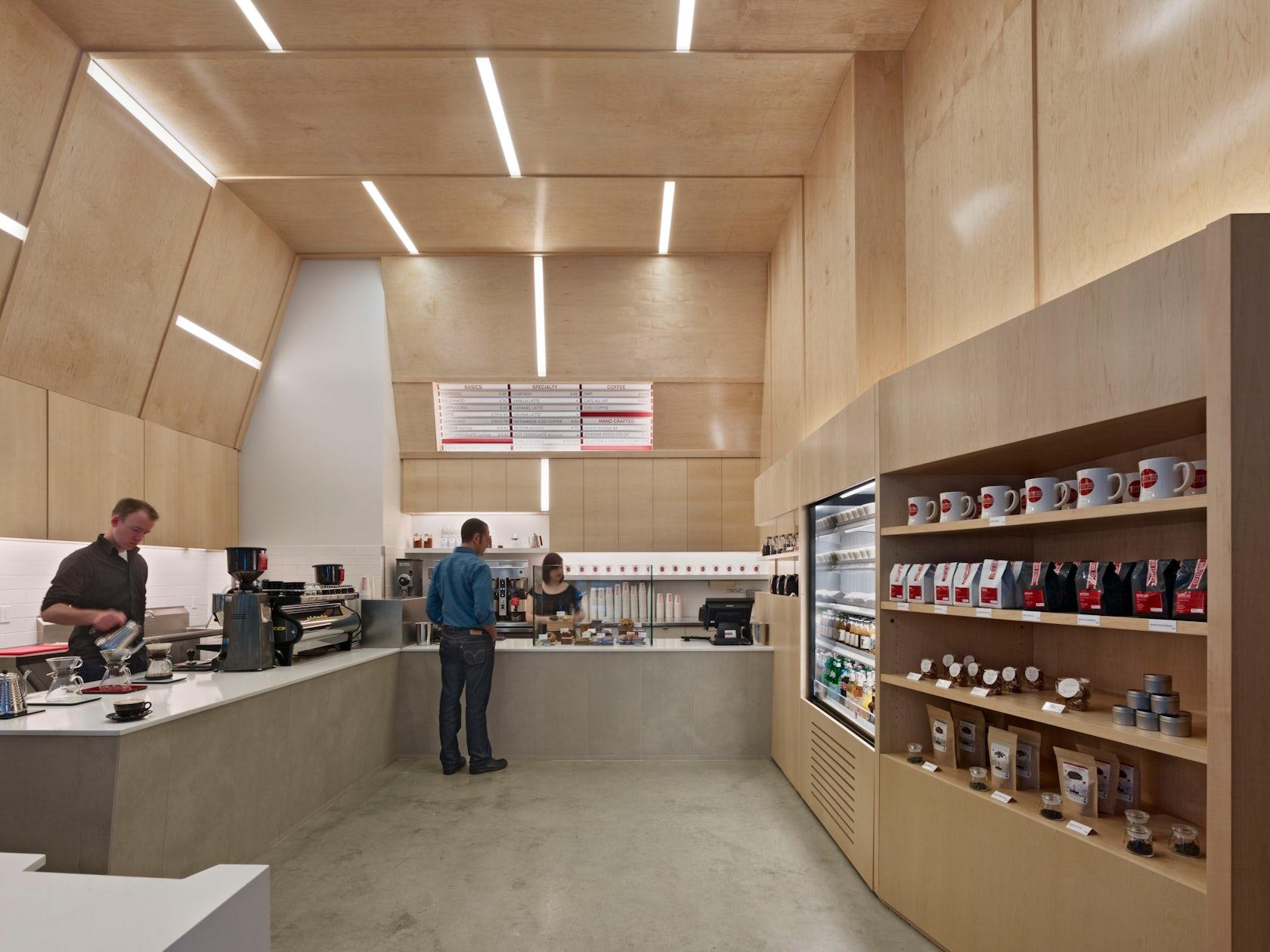 Coffee Bar 101 Montgomery San Francisco Architizer