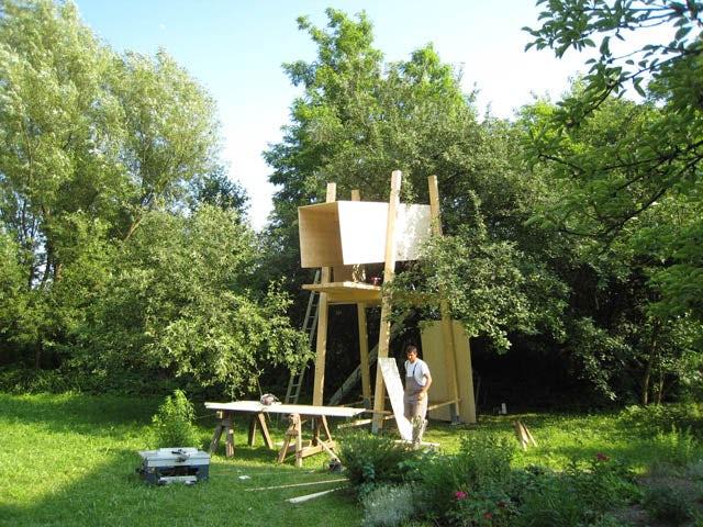 tree house on architizer