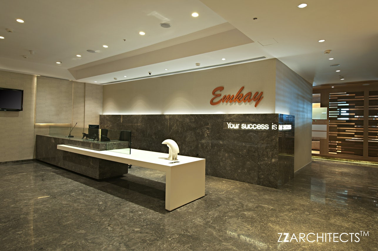 Emkay Corporate Office Architizer