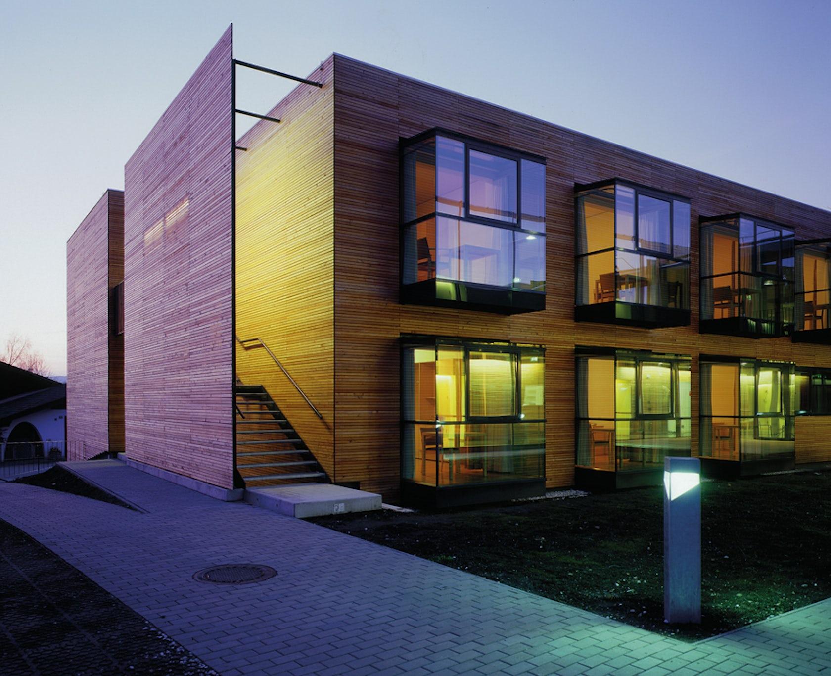Senior citizens residence st nikolaus architizer for Home design for seniors