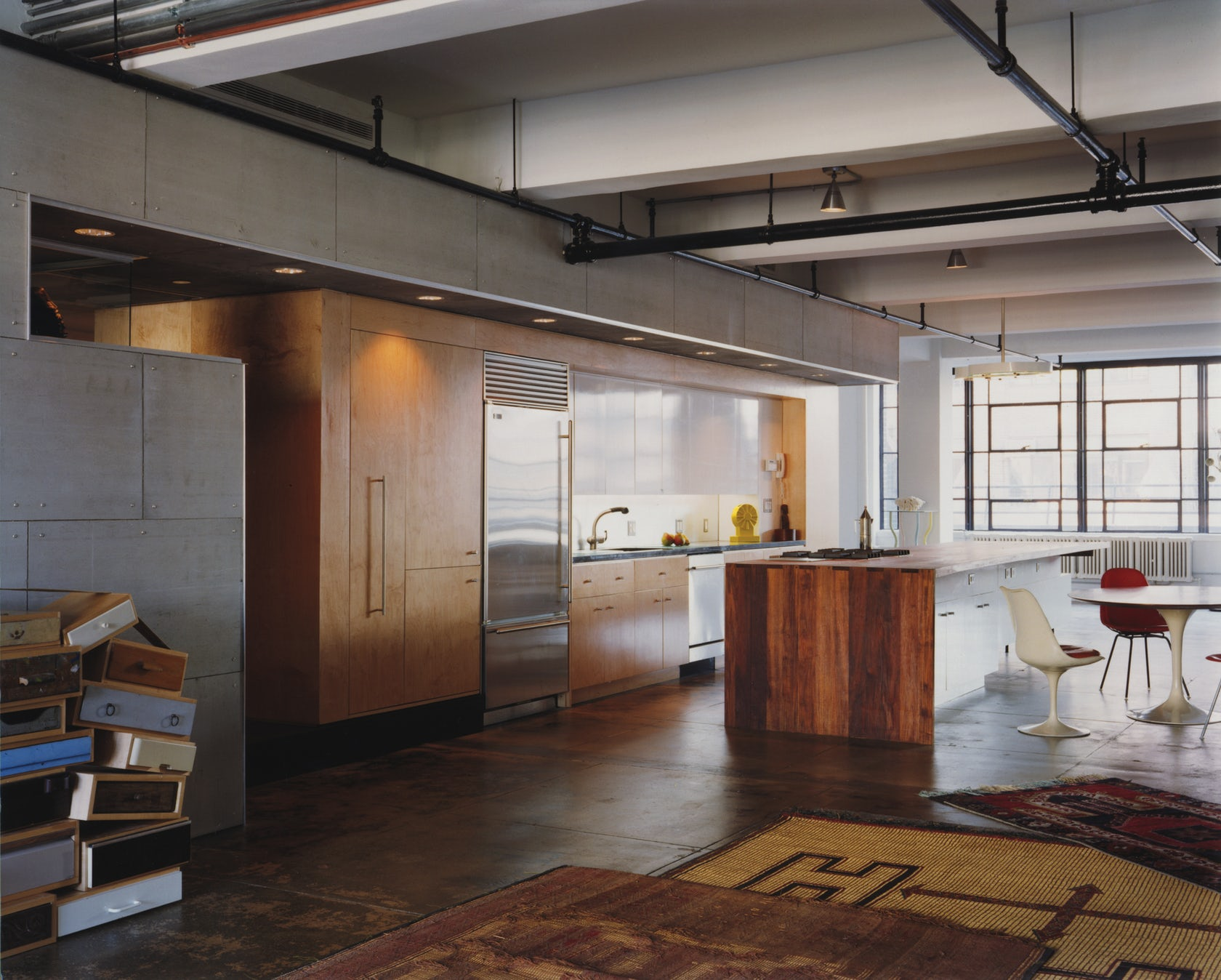 Interior:Creative House Loft Exposed Design Without Ceiling Idea Creative  House Loft Exposed Design Without