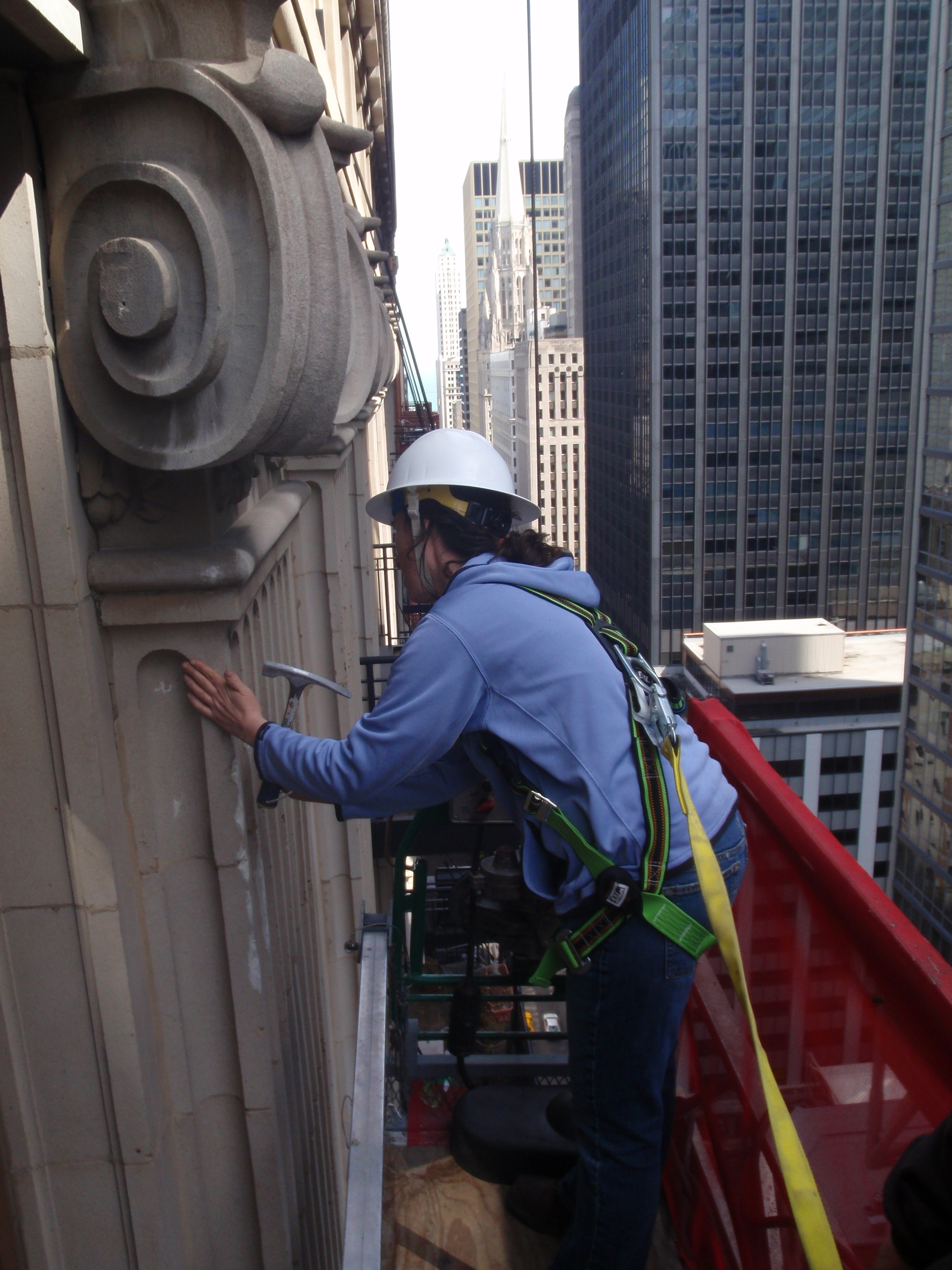 chicago high-rise facade repair projects