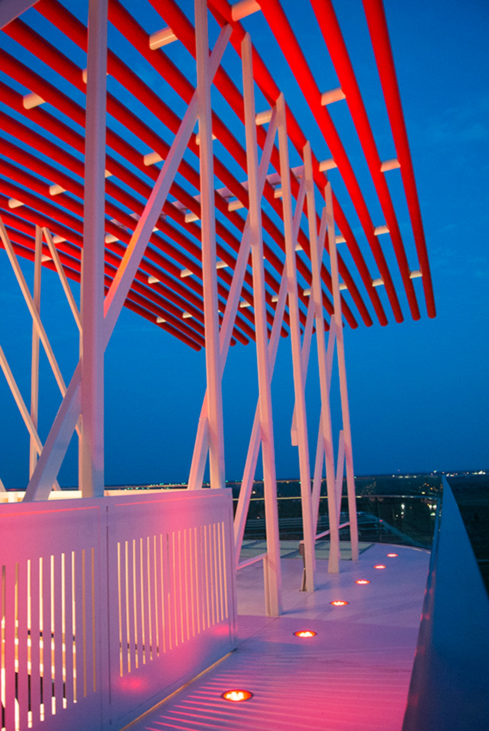 Observation Tower Circuit Of The Americas Architizer