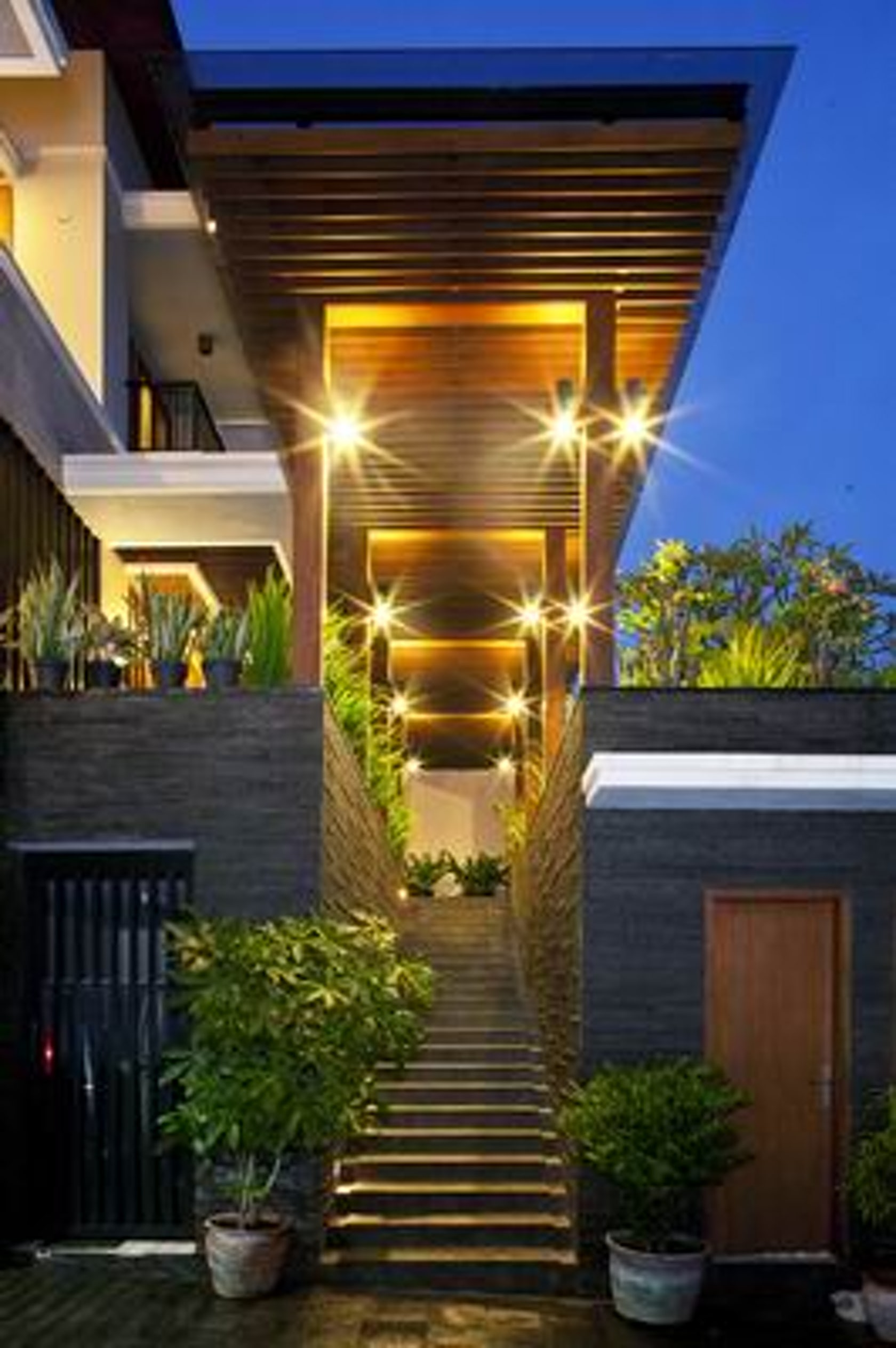 Tropical Balinese Modern House On Architizer