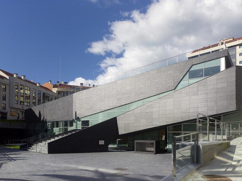 Sport Complex And Swimming Pool In La Florida Vigo Spain Estudios  Arquitectura Coruna