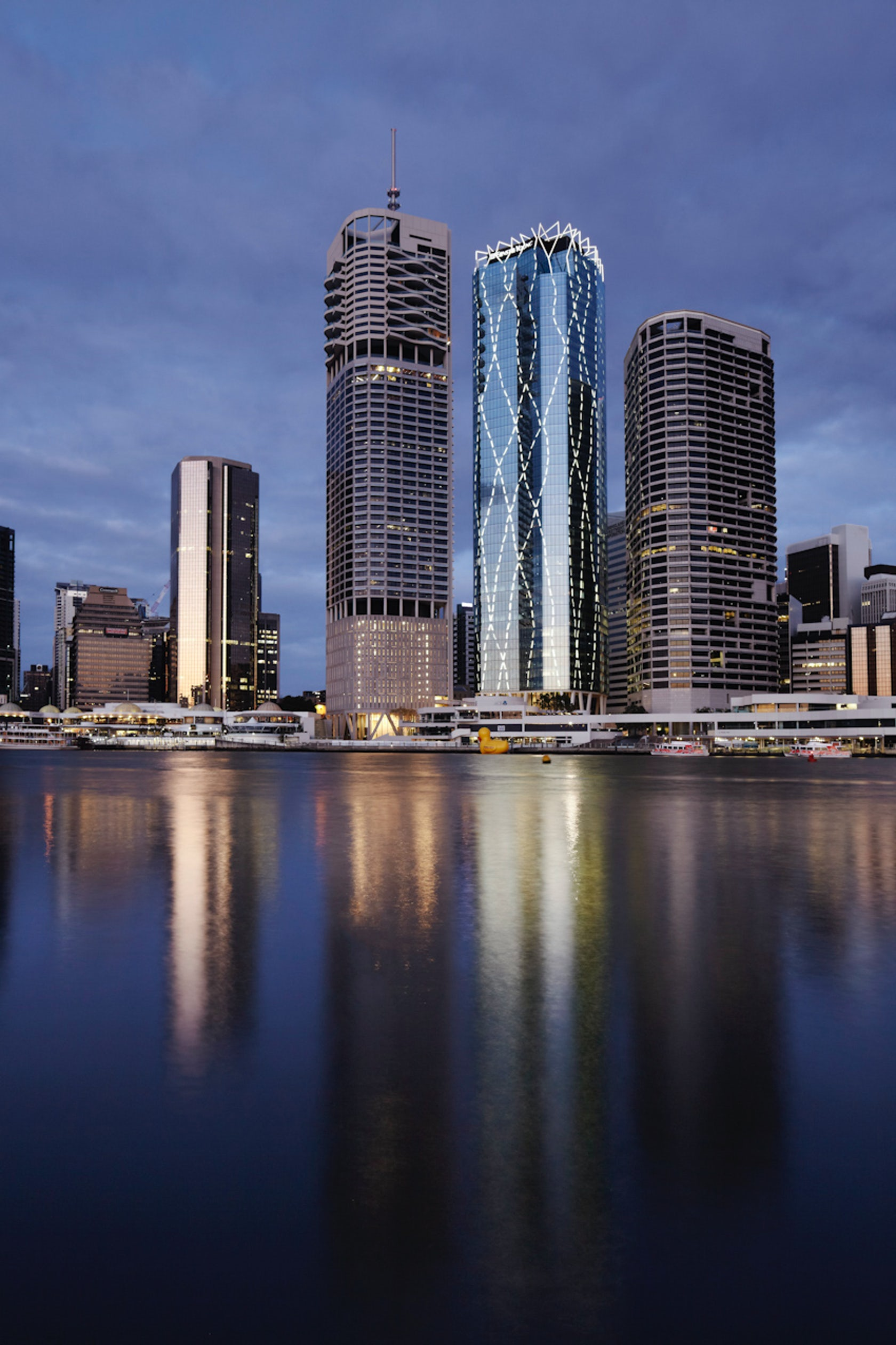 One one one eagle street architizer for Architecture firms brisbane
