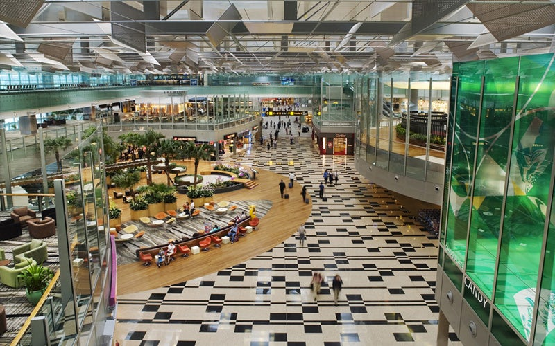 changi airport terminal 3 on architizer