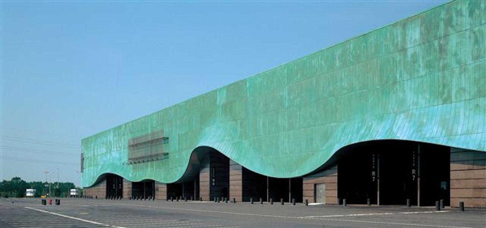 As architecture studio architizer for Parking parc des expositions paris