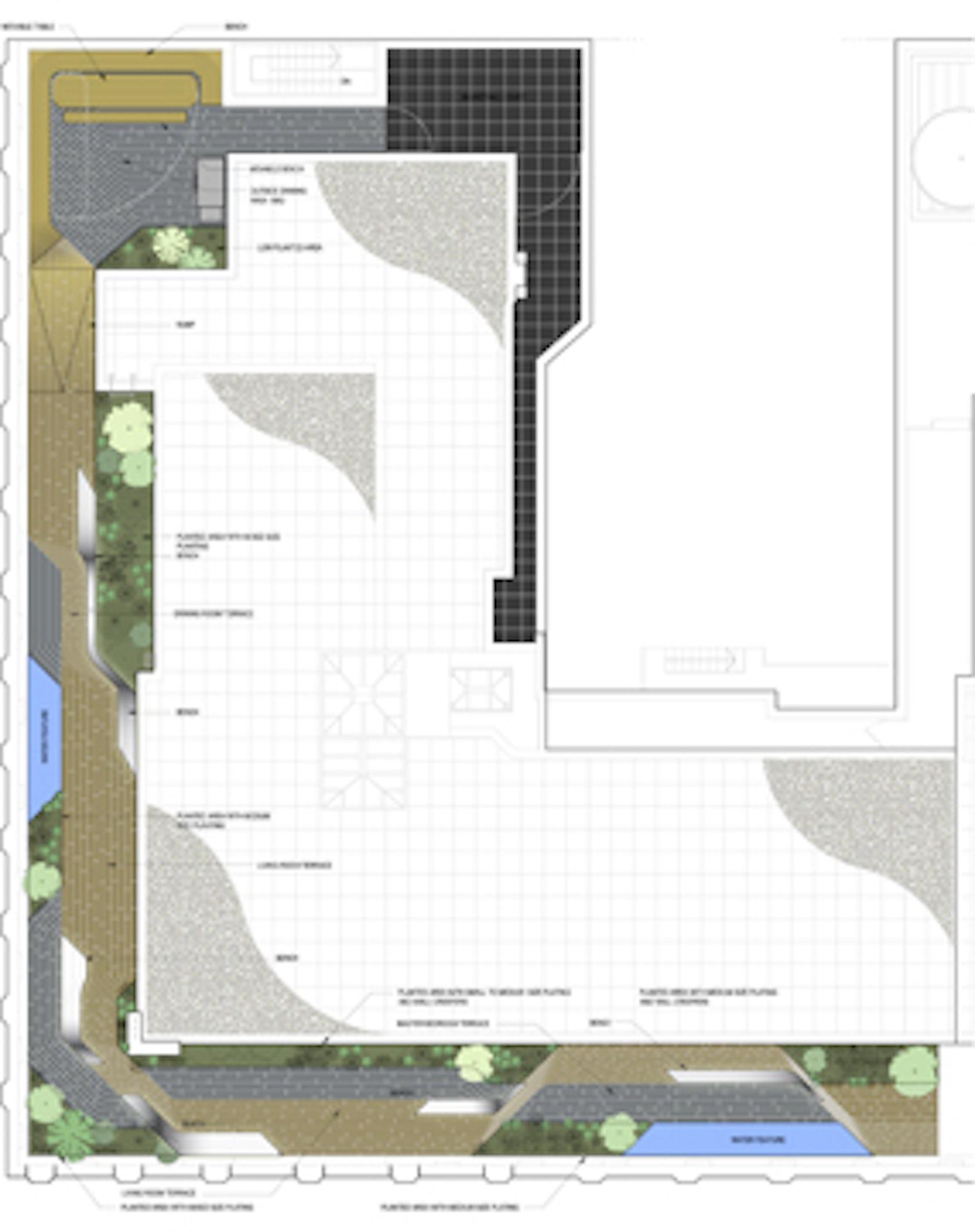Park avenue roof terrace architizer for 60 park terrace west