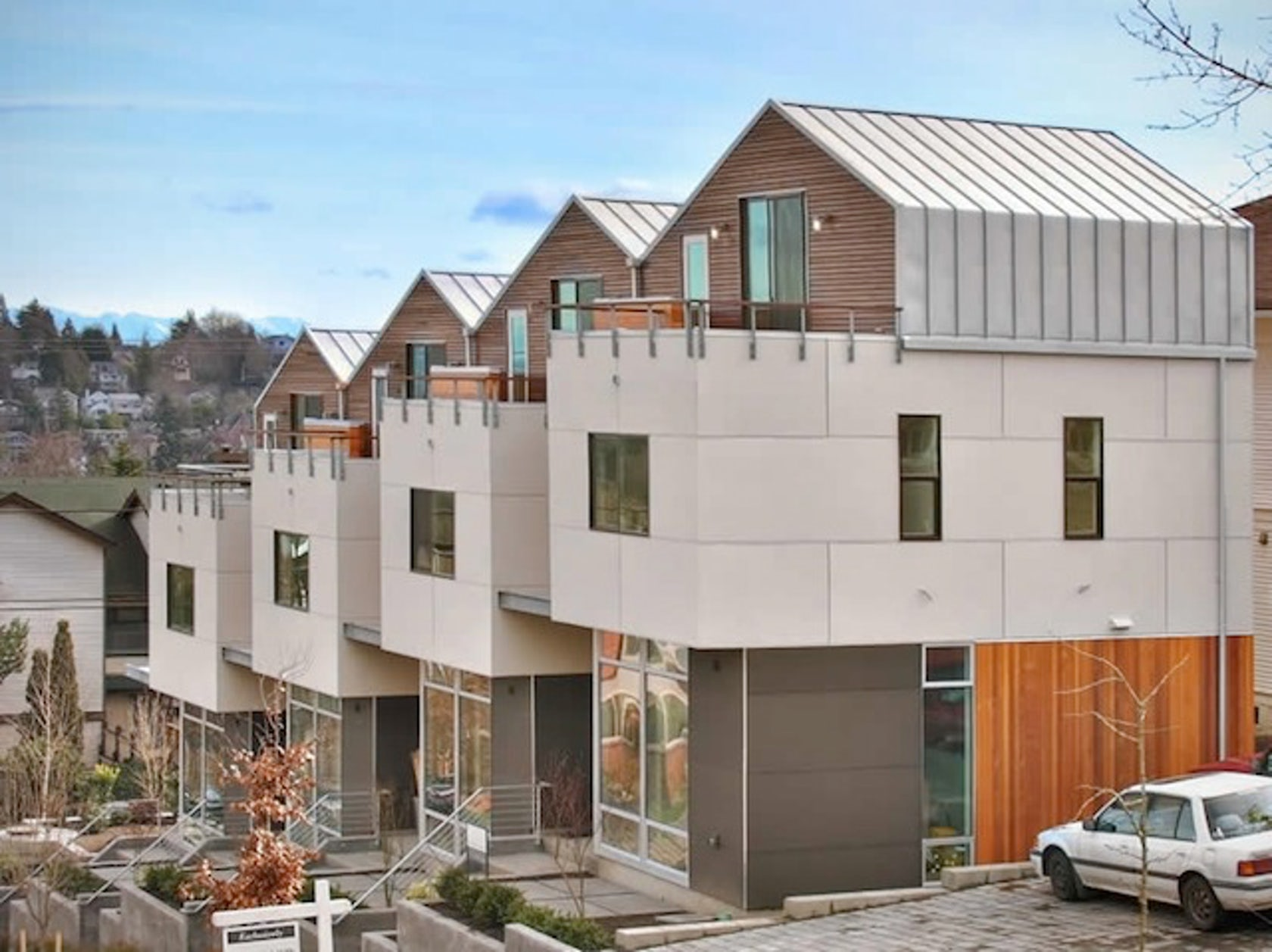 Denny Rowhouses Architizer