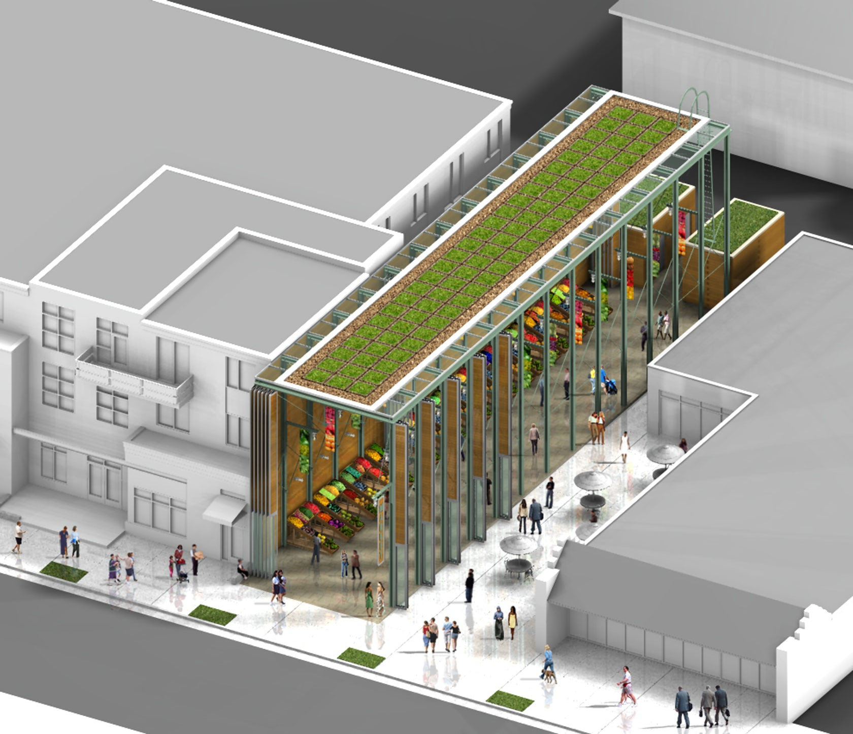 Denver Farmers Market Design Competition