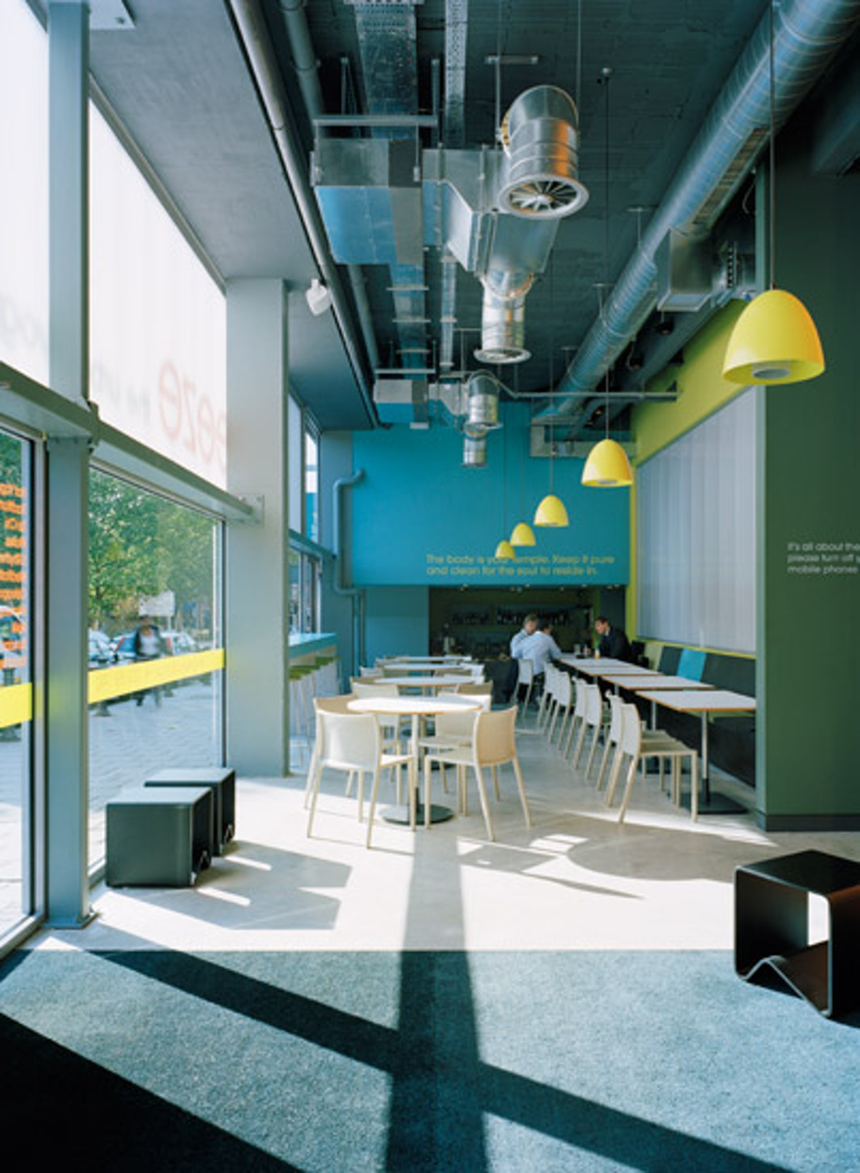 Breeze yoga architizer for Commercial interior design nyc