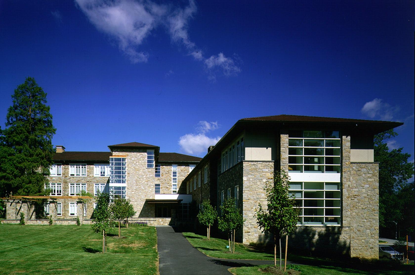 Goucher College Van Meter Hall Architizer