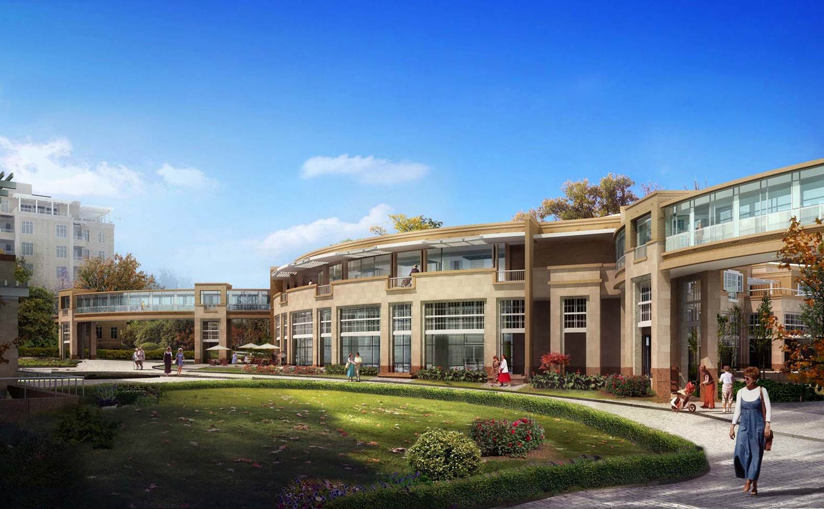 Sharon hills continuing care retirement center architizer for College street motors amherst ma
