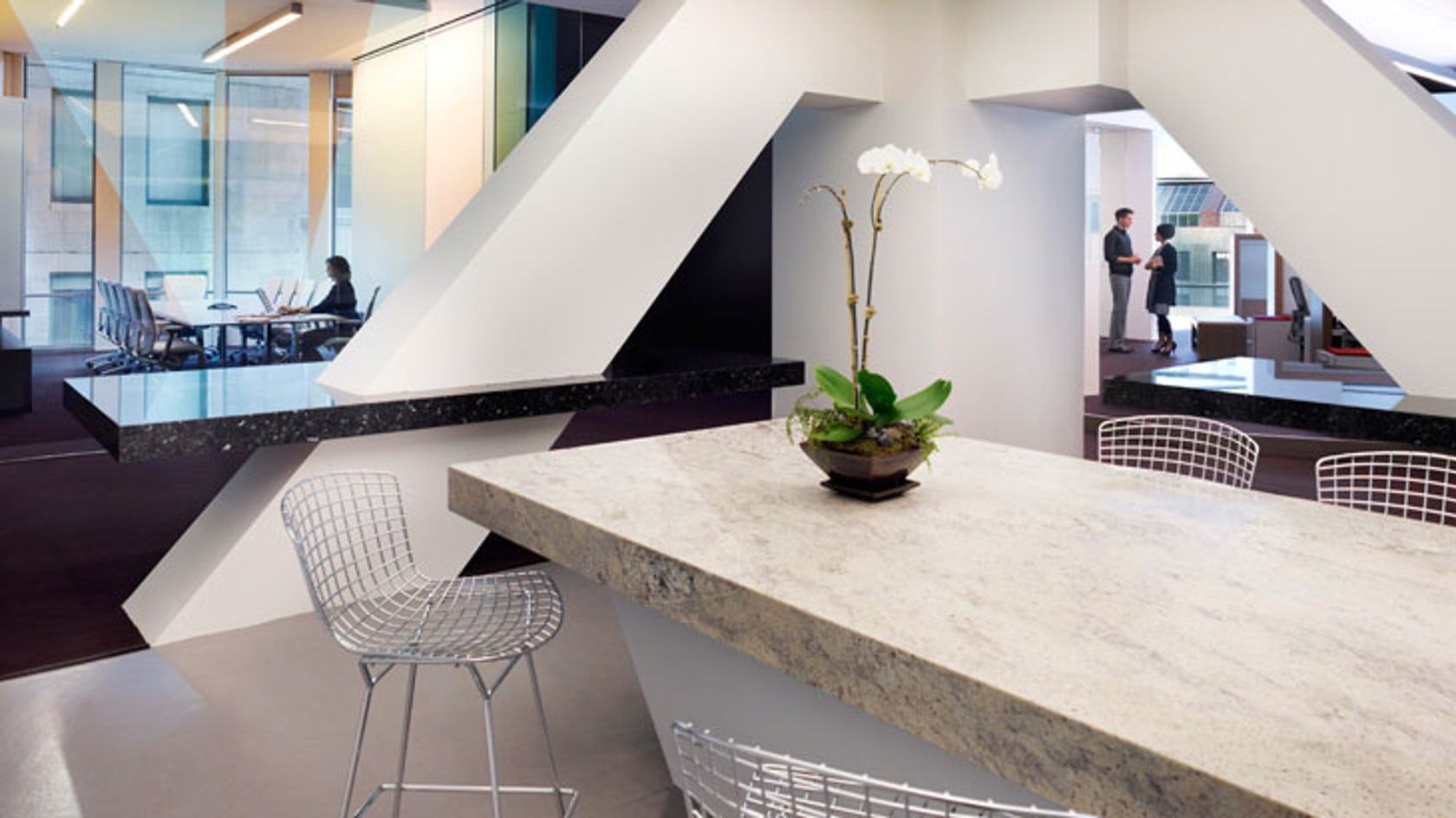 Los Angeles Us Bank Tower Office Architizer