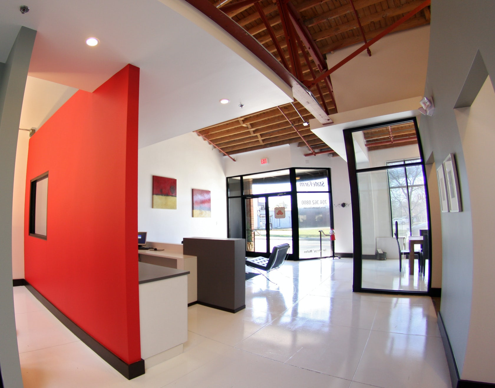 State farm architizer for Interior design agency new york