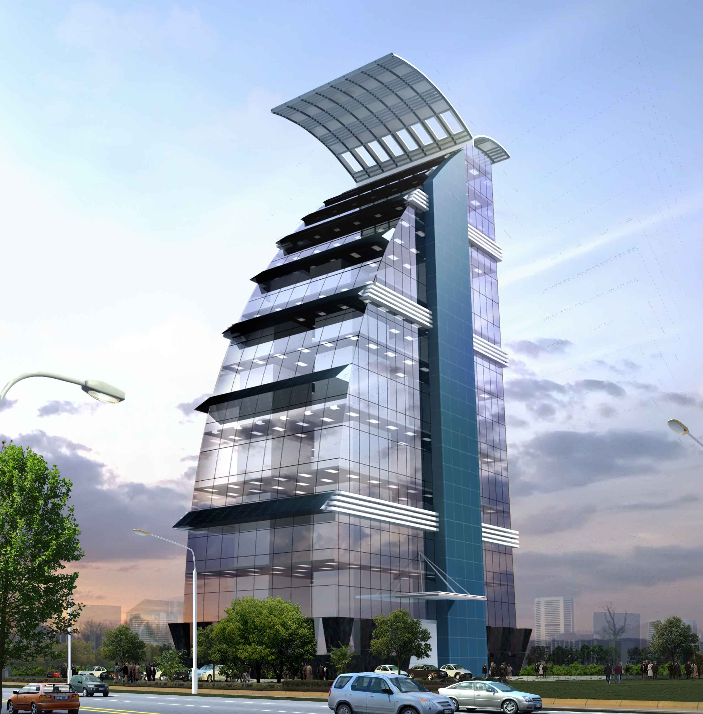 Proposed New Administrative Building For Lucknow