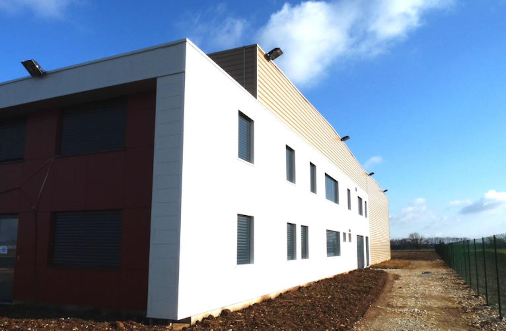 B timent industriel architizer - Construire un batiment industriel ...