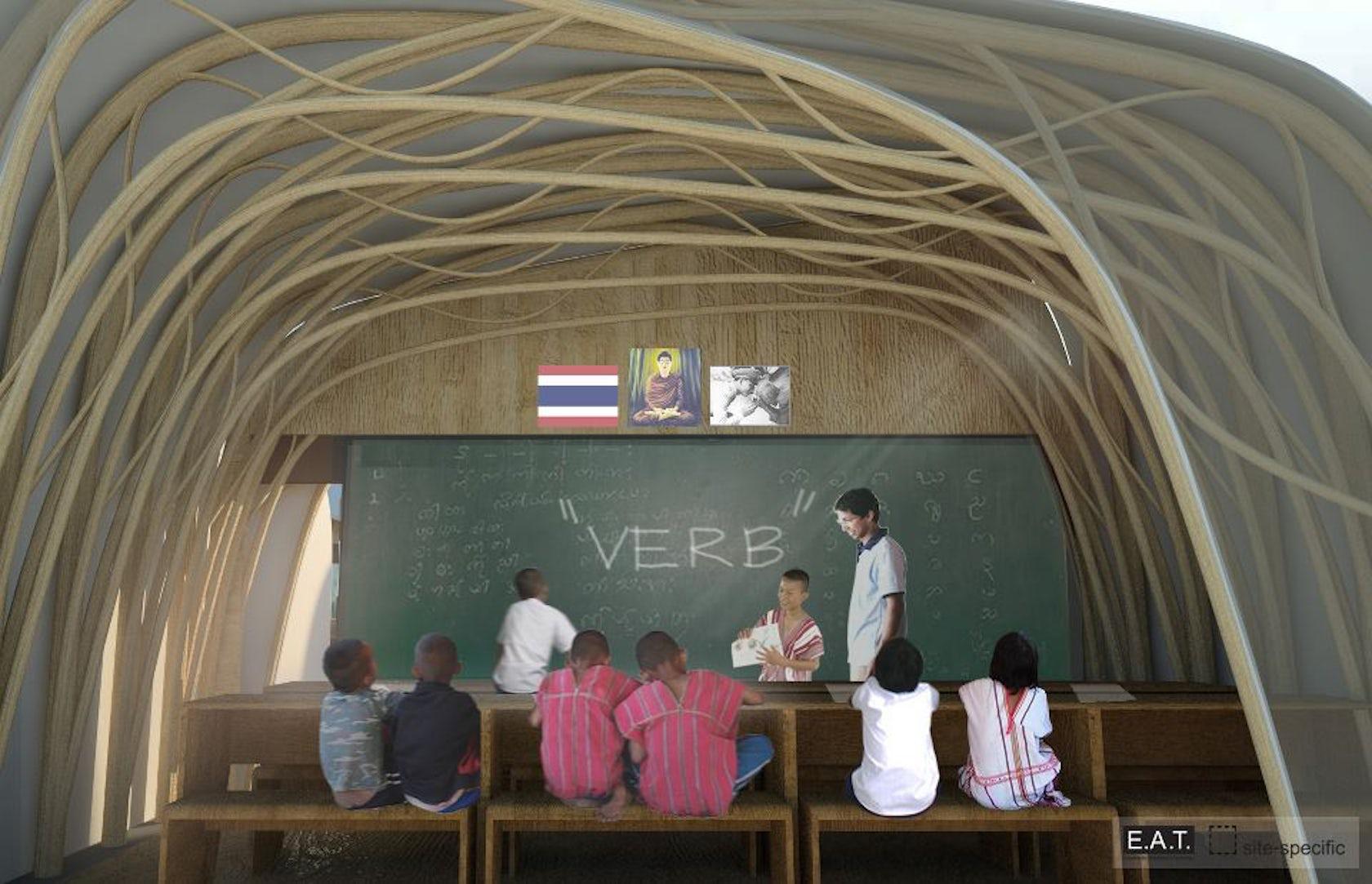Modular Classroom Rfp ~ Sathublae school modular for burmese refugees