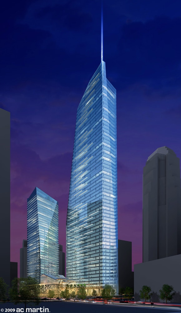 wilshire grand redevelopment project