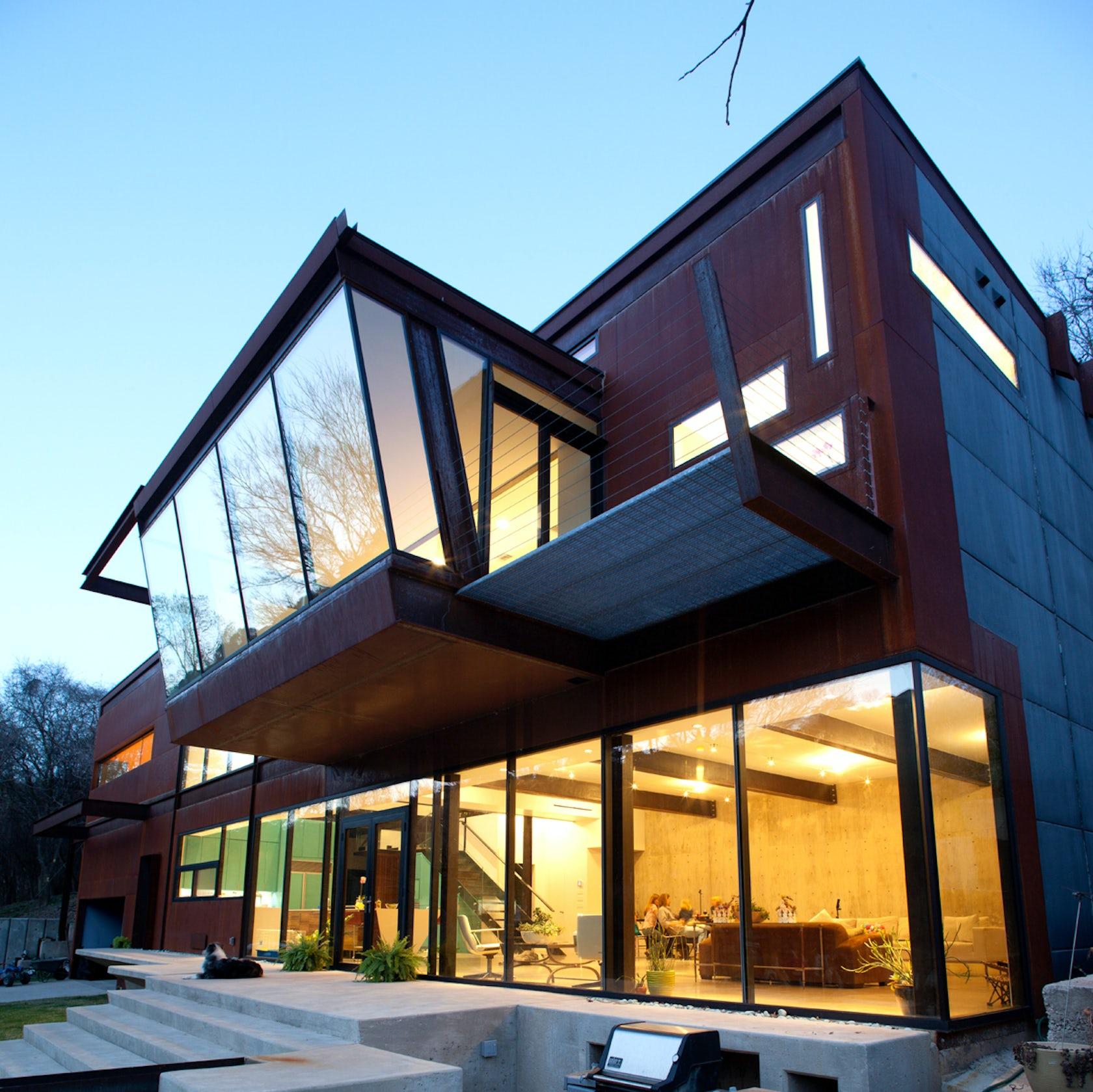 Lake austin residence architizer - Construcciones de casas modernas ...