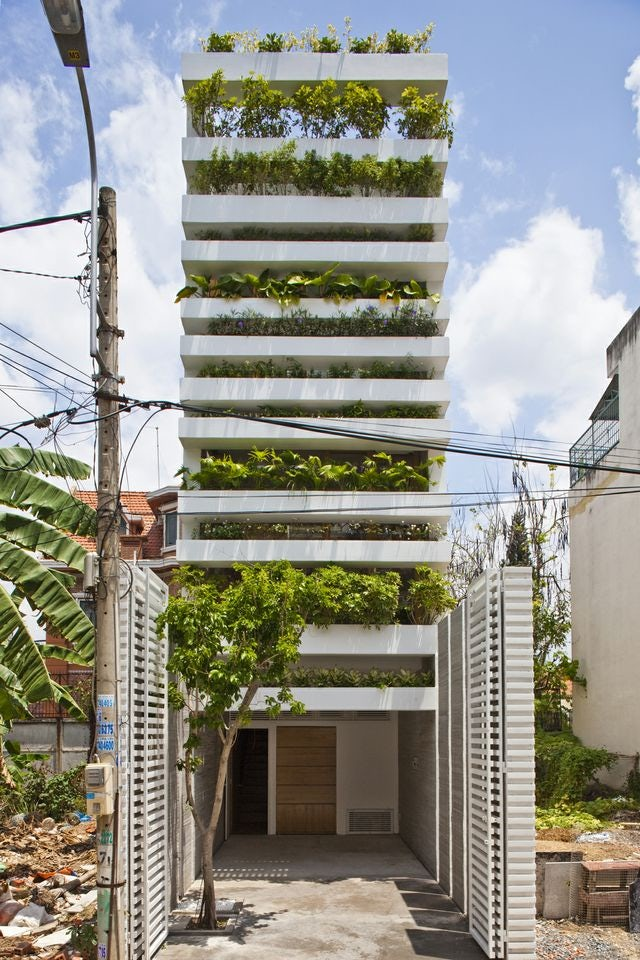 Overflowing With Nature: Growing Façades in Vietnam