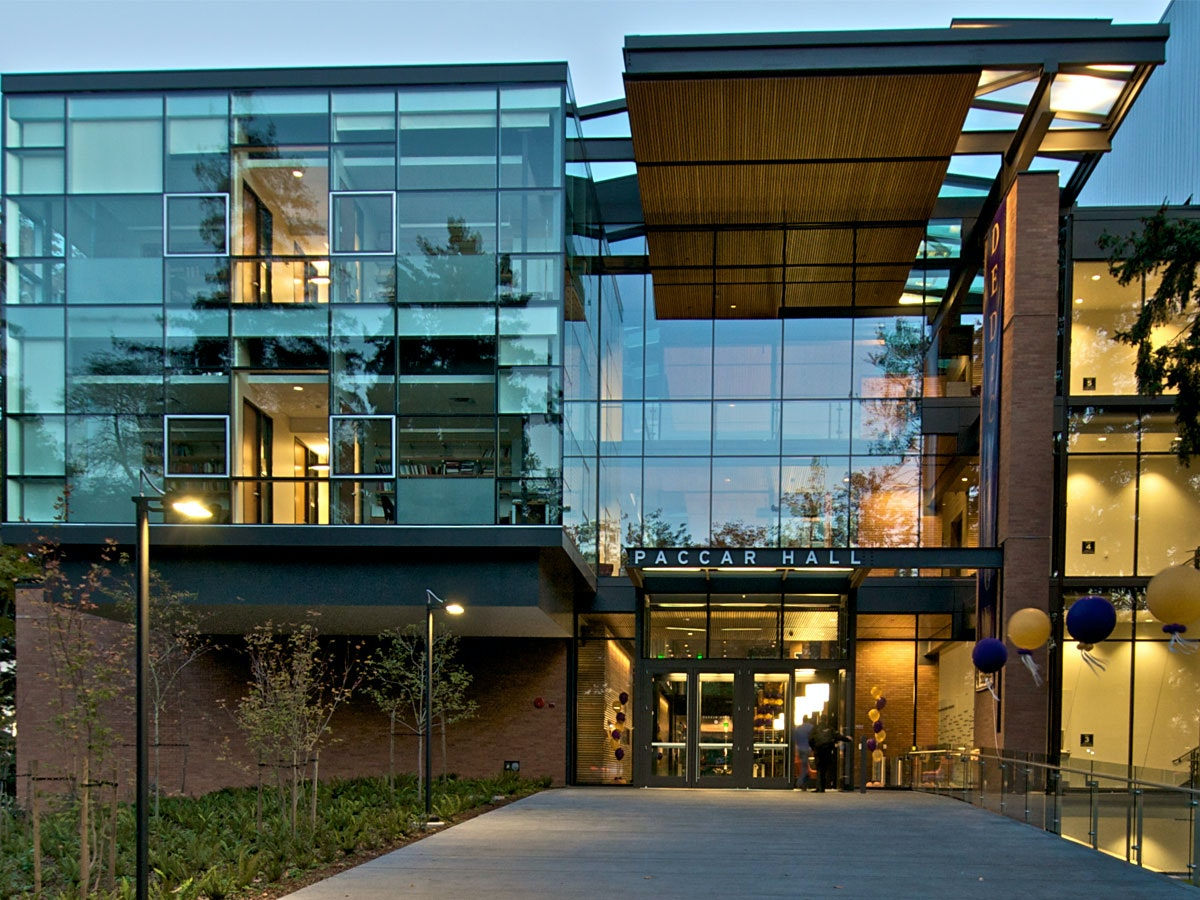 Paccar Hall  Foster School Of Business  University Of