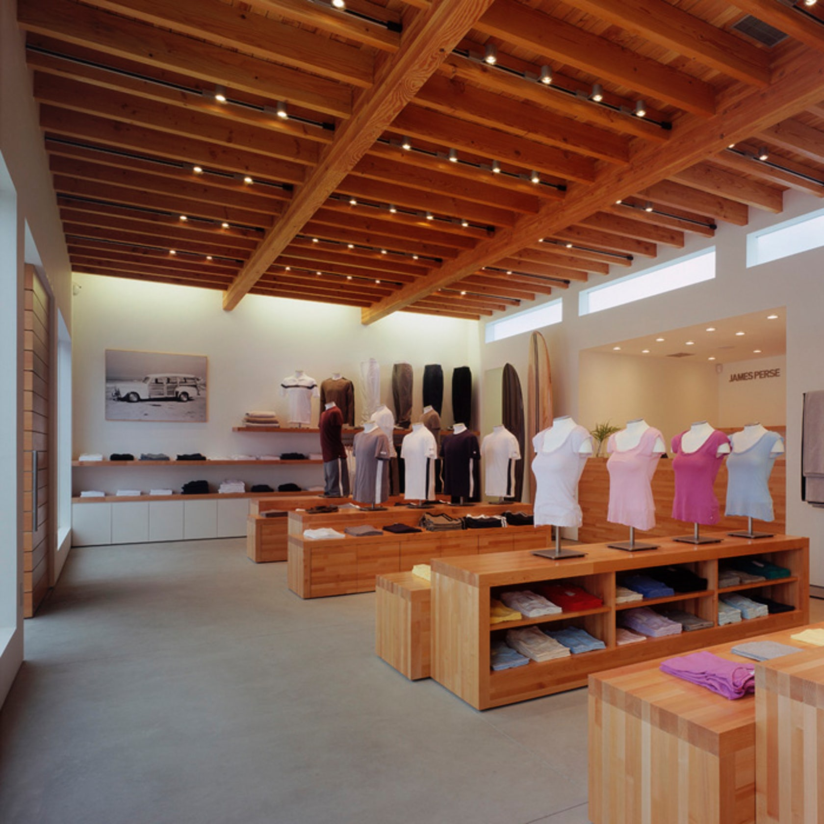 James perse store malibu architizer Architecture perse