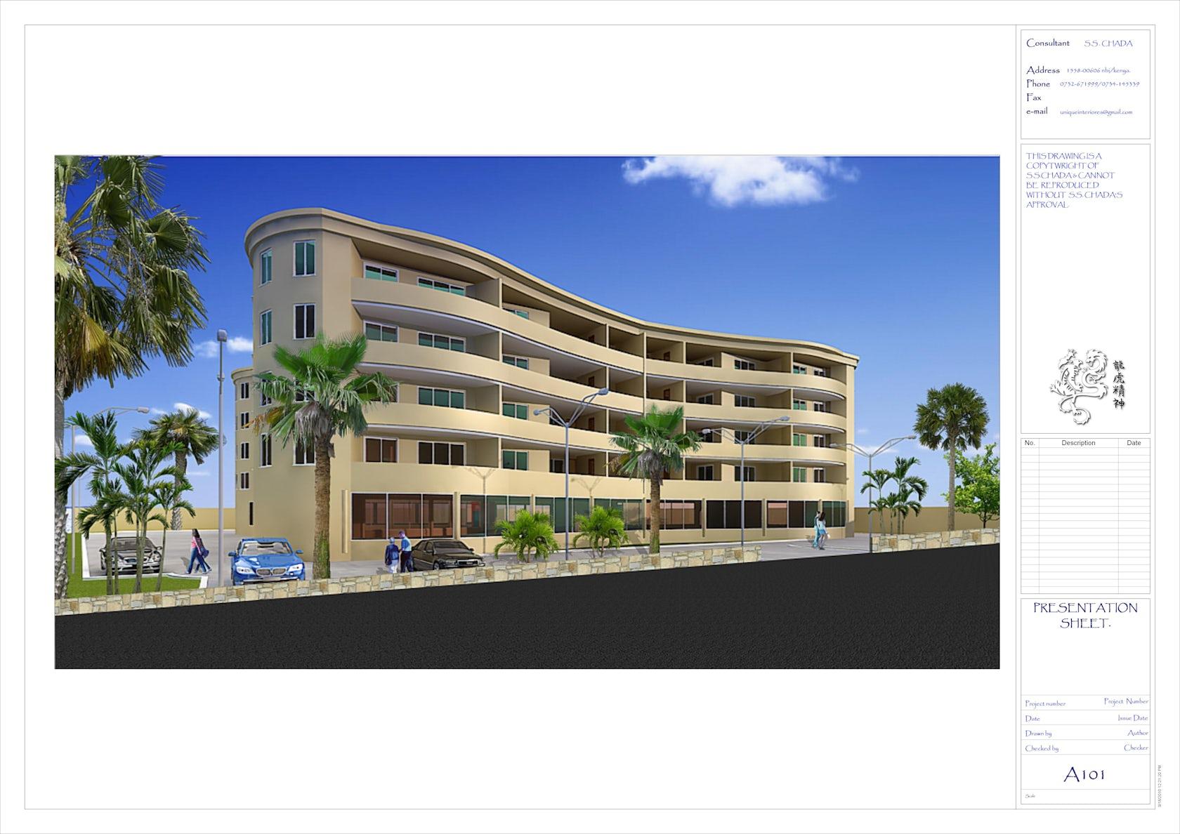 Apartment block design architizer for Apartment block plans