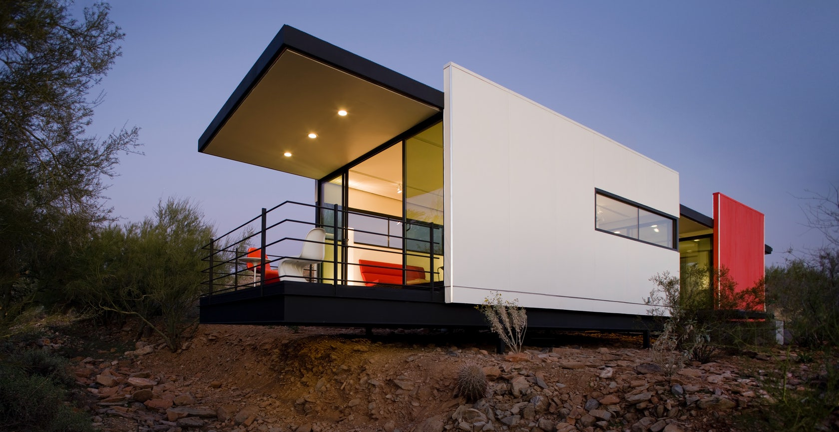The taliesin mod fabtm architizer for Panelized homes new york