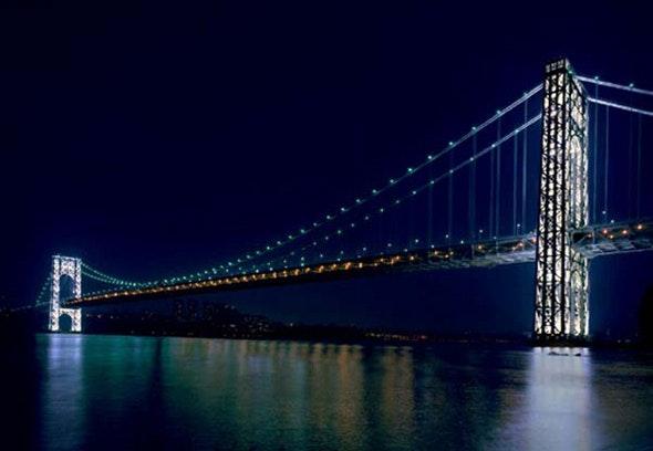 george washington bridge towers