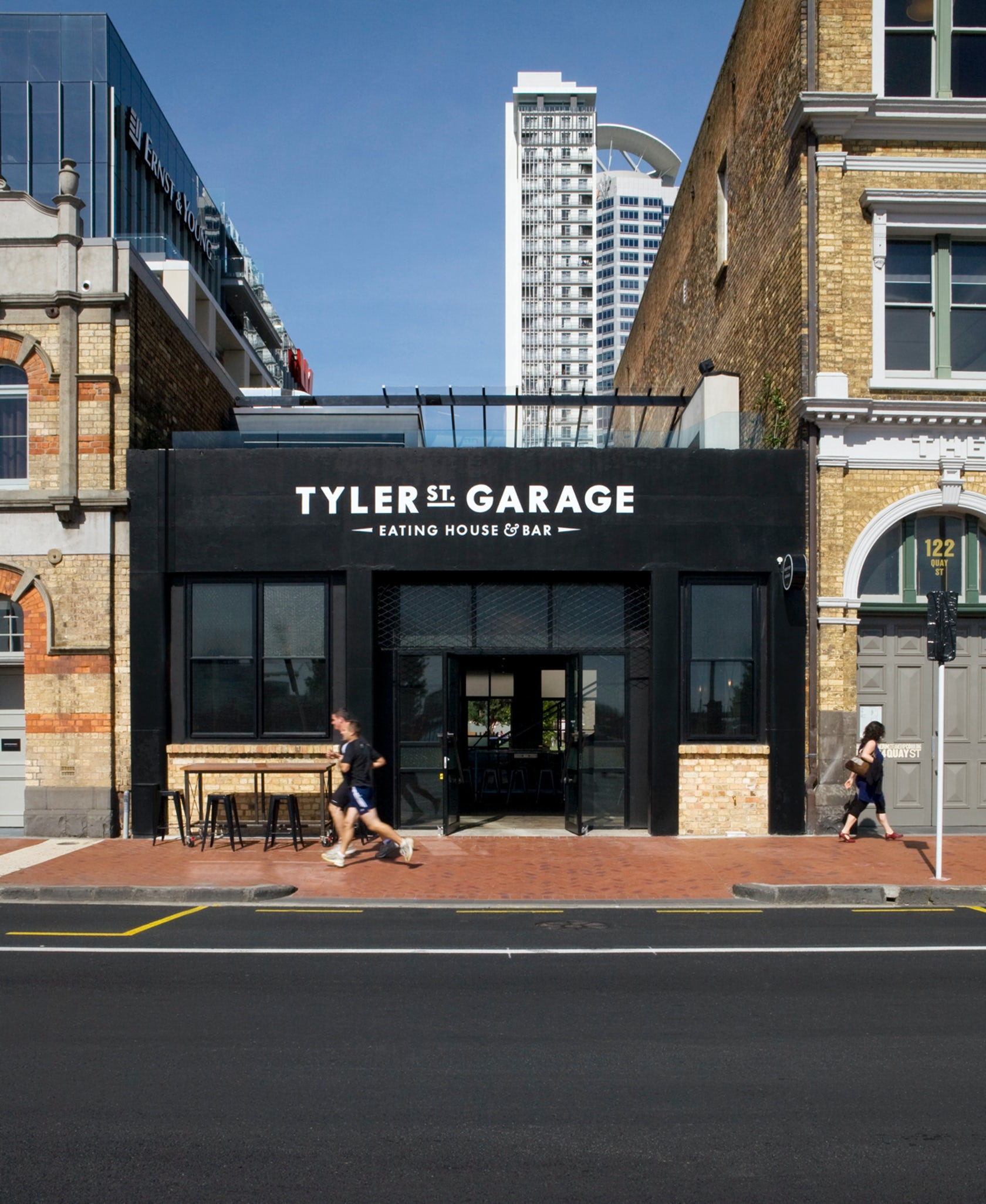 Tyler street garage architizer