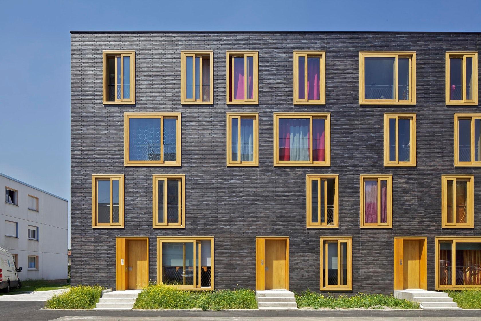 23 social housings architizer for Fres architectes
