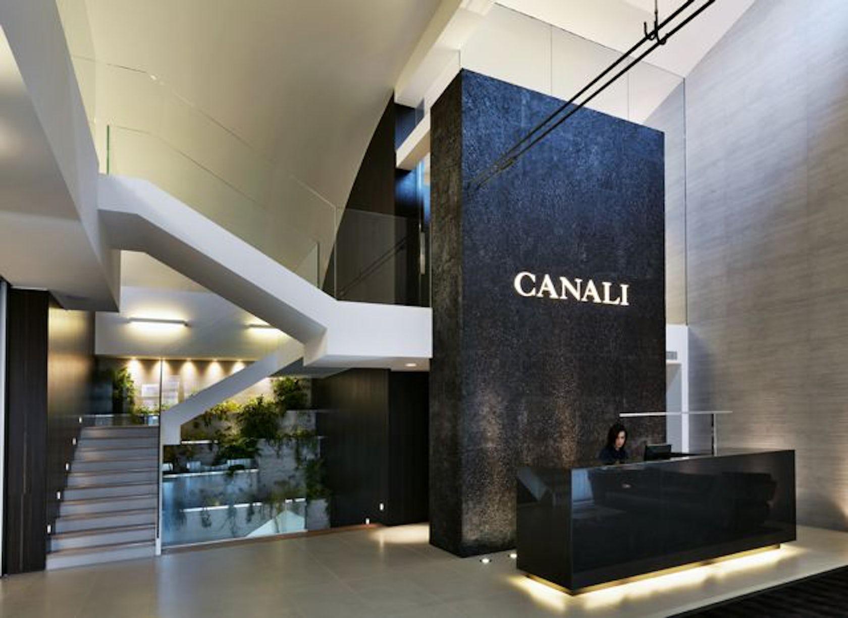 canali milan showroom architizer