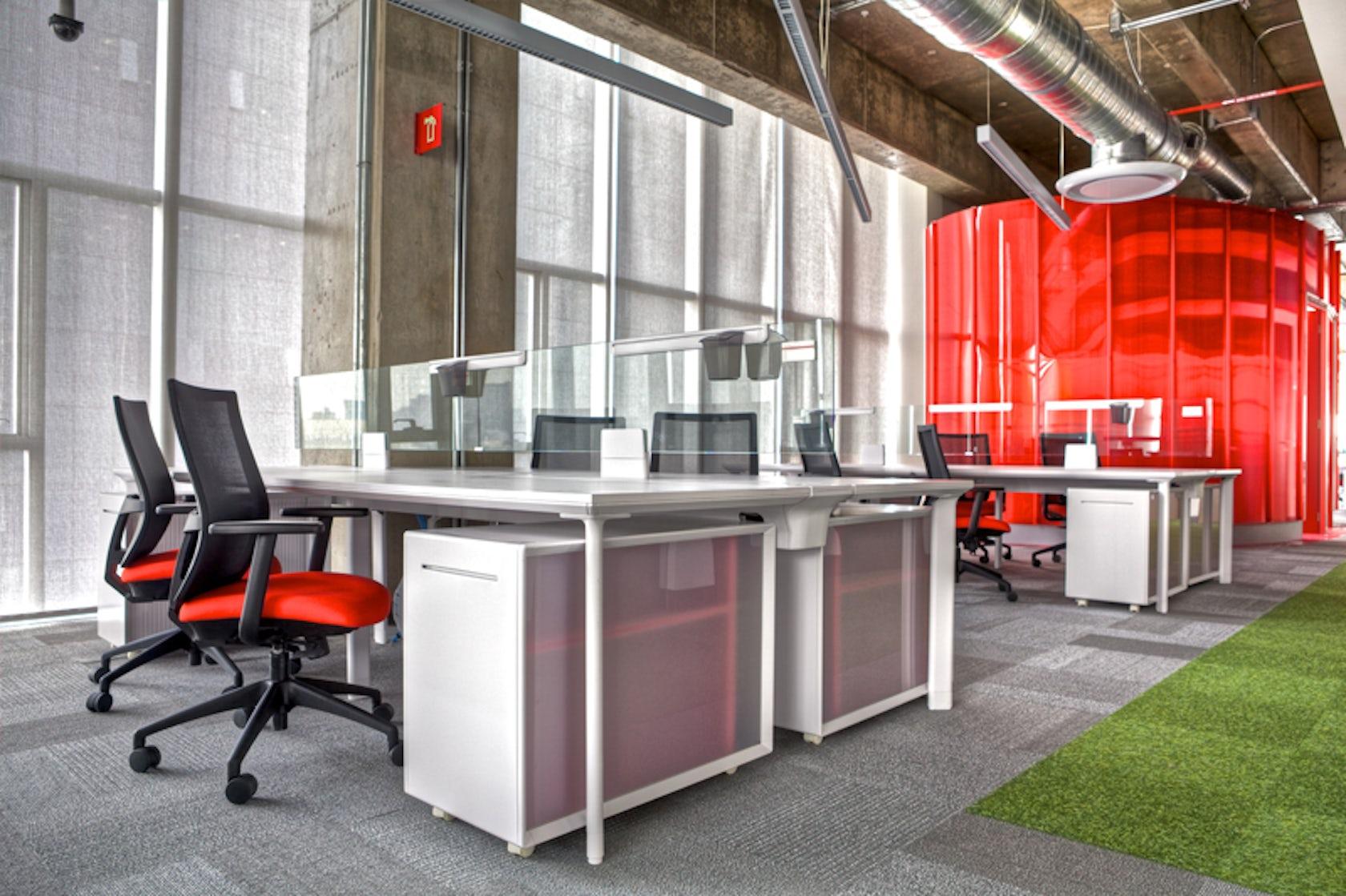 Intercam architizer for Construccion de oficinas