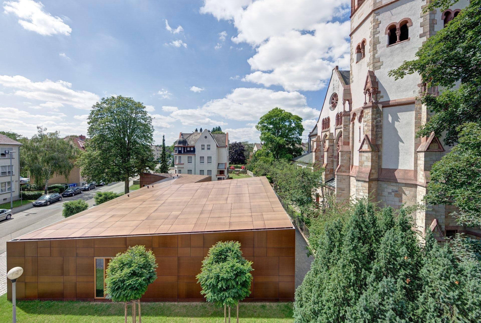 Hille Architekten gemeindezentrum ginsheim gustavsburg on architizer
